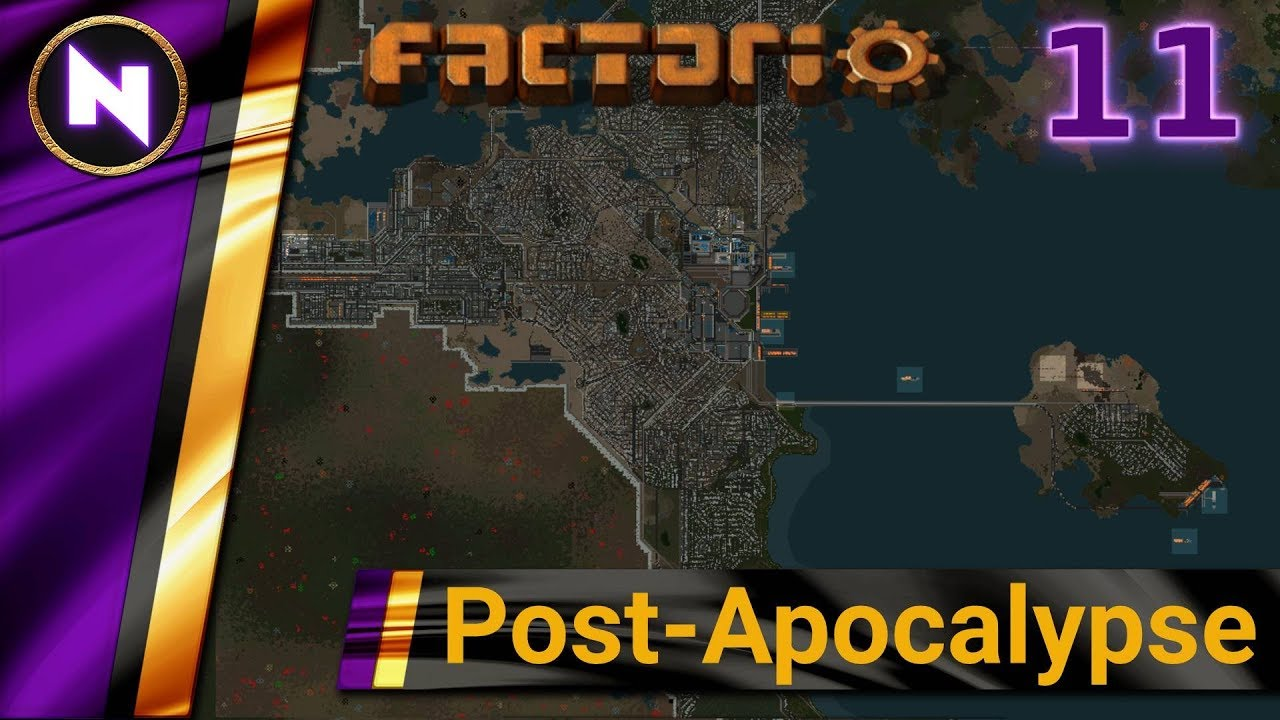 Factorio Post-Apocalypse #11 BASIC OIL