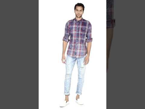 Nuon by Westside Blue Hendrix Slim Fit Jeans 300690209001