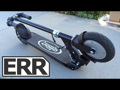 Glion Electric Scooter Model 100 Video Review