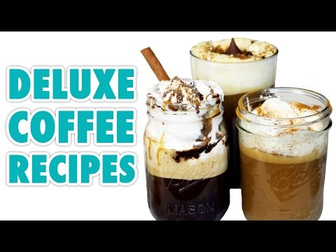 5 Deluxe Coffee Recipes