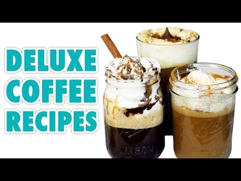 5 Deluxe Coffee Recipes