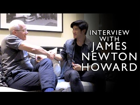 Interview with James Newton Howard | Leslie Wai Vlog