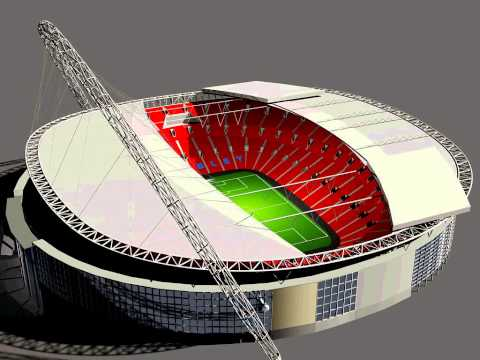 Wembley stadium rendered 3d model youtube wembley stadium rendered 3d model sciox Gallery