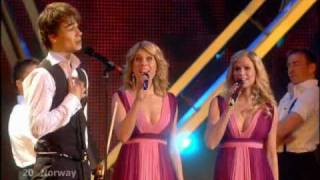 Eurovision 2009 WINNER Norway (HQ) Alexander Rybak !!! HQ ( Live from Moscow )
