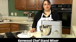 Kenwood Chef Titanium Stand Mixer Test & Review KMC010 ~ Amy Learns to Cook