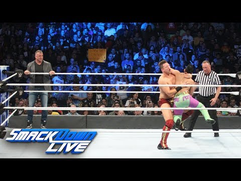 Shane McMahon & The Miz vs. local competitors: SmackDown LIVE, Nov. 20, 2018