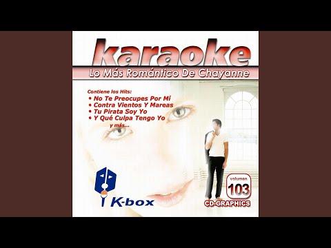 Tu Pirata Soy Yo (Karaoke Version)