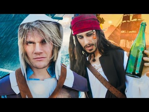 Assassins Creed 4 Black Flag  THE MUSICAL feat Jack Sparrow