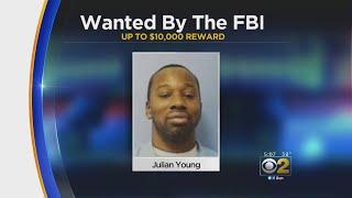 FBI Offers $10,000 Reward For Man's Arrest