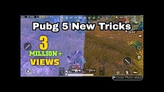 Only 0 5% People Know About This Tricks   Pubg Mobile 5 Secret Tips and Tricks