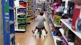 Kid Temper Tantrum Over Back To School Sale At Walmart, Kicked Out [ Original ]
