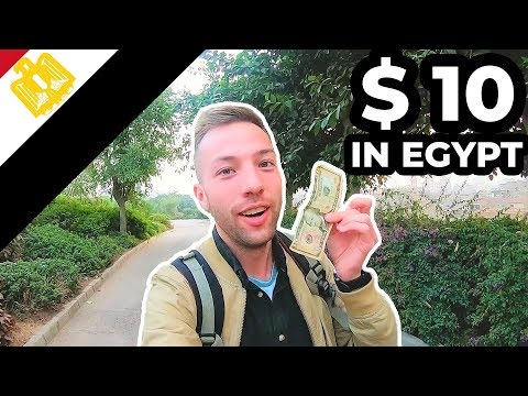 What Can $10 Get You In EGYPT 🇪🇬 عشرة دولارات في مصر