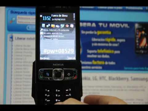 Como Liberar Nokia N95 8GB por código en www.movical.net