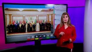 مصافحة الملك سلمان ورئيس وزراء قطر والملك عبدالله يؤدي العمرة في قمة مكة