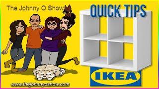 QT. #2 IKEA | Hanging KALLAX Cubes