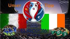 Unser Em Tipp 2016 Italien Vs Irland Gruppenphase