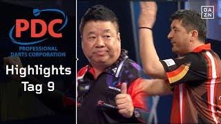 Mensur Suljovic muss kämpfen, Paul Lim fast perfekt | Highlights | PDC Darts WM 2018 | DAZN