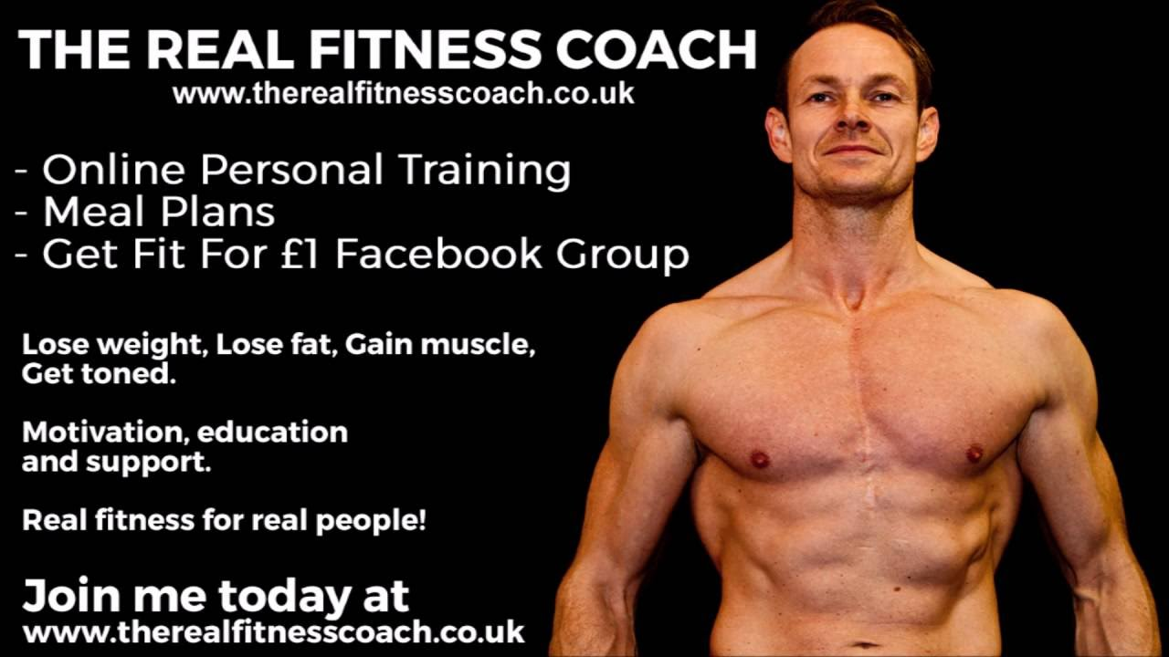 de9b3cc3331 The Real Fitness Coach  Online Personal Training - YouTube
