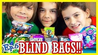 BLIND BAGS! Ep. 5 | Teenage Mutant Ninja Turtles, My Little Pony, LEGO, Minecraft |  KITTIESMAMA,