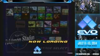 EVO 2014 SSBM QF Pools - Armada vs Scar