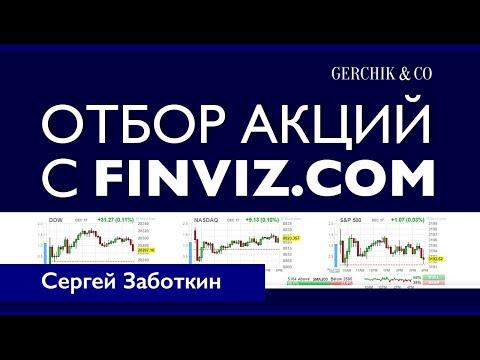 Скринер акций для трейдинга. Как отфильтровать и быстро выбрать акции с помощью Finviz