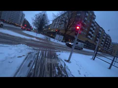 Commute in Gothenburg, Sweden