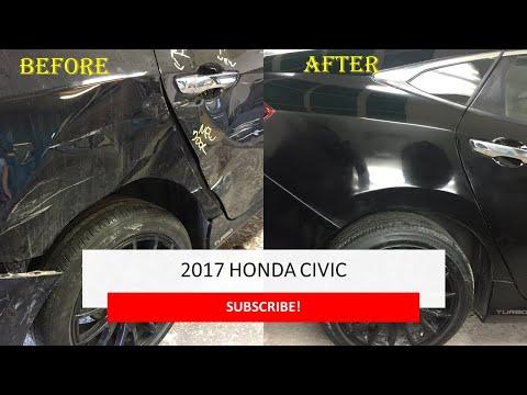 2017 Honda Civic Turbo Body Repair