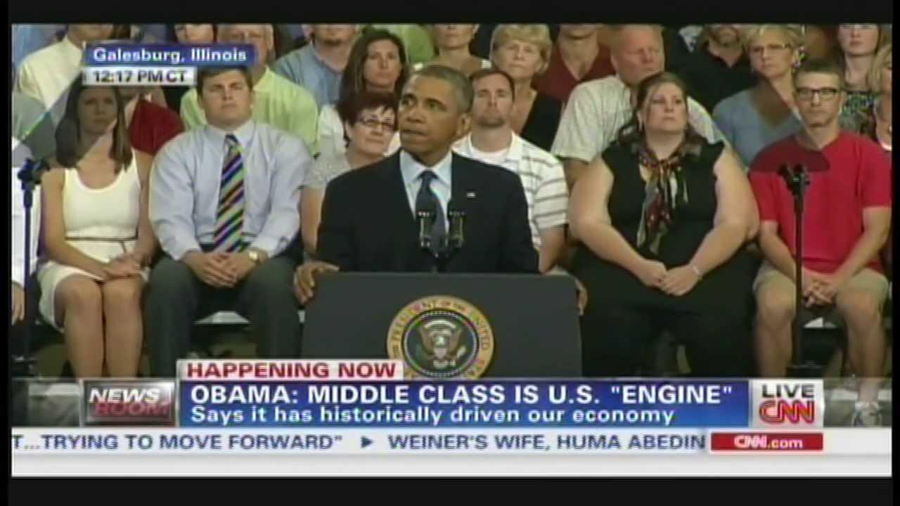 President Obama Knox College Galesburg Illinois Speech (July 24, 2013) [1/5]