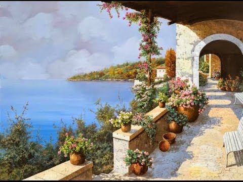 Italian, Tuscany Landscape | Paint with Kevin Hill