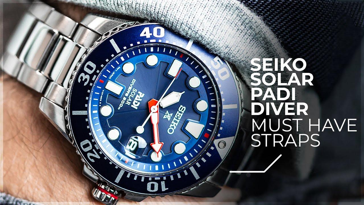 567fa166a The MUST HAVE Straps For Your Seiko - Seiko Solar Padi Diver ...
