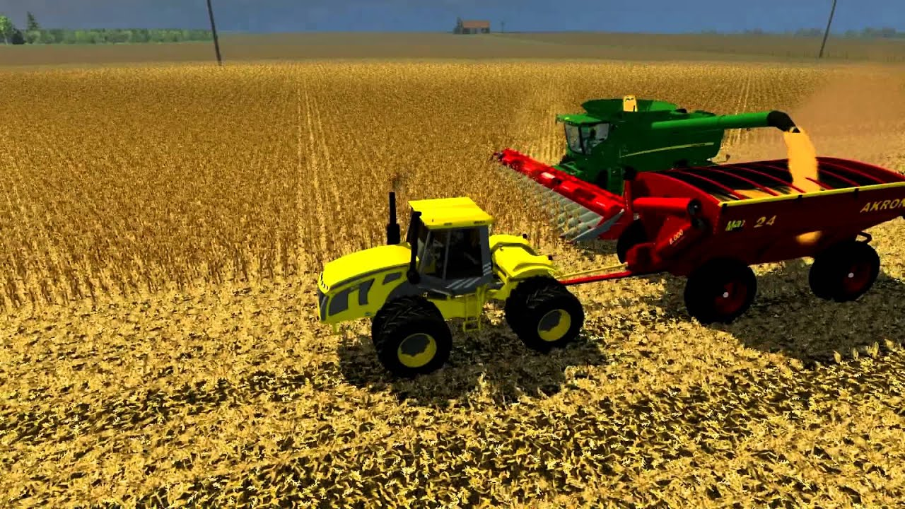 Farming Simulator Cosecha De Maiz YouTube - Argentina map farming simulator 2013