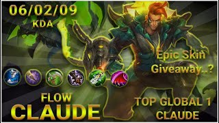Nurf me All You Want_Top Global Claude by Flow #MobileLEgends #MLBB