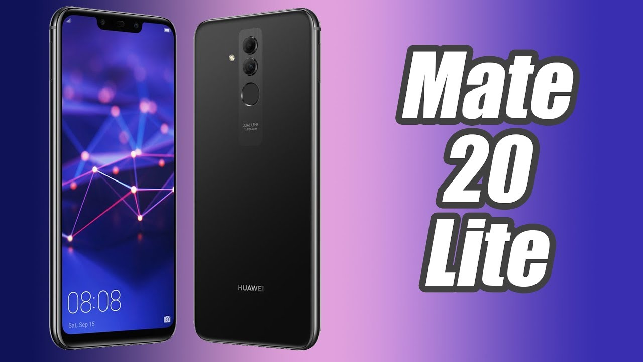 Huawei Mate 20 Lite هاتف هواوي الجديد بمواصفات خرافيه و السعر مفاجأة