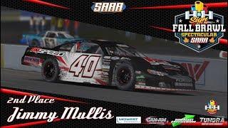 SARA Fall Brawl Driver Recap - 2nd Place Jimmy Mullis