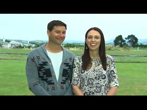 Prime Minister Jacinda Ardern and partner Clarke Gayford talk about the reaction to pregnancy