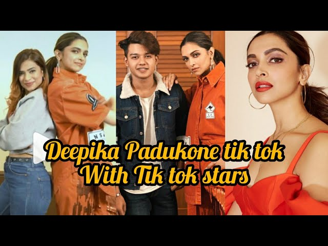 Deepika padukone tik tok video!chapaak movie !deepika padukone on tik tok with awez darbar and riyaz