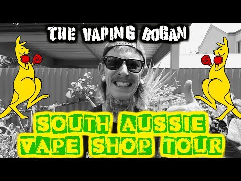 South Aussie Vape Shop Tour + Smooth Q 3-Axis Stabilizer Review | The Vaping Bogan