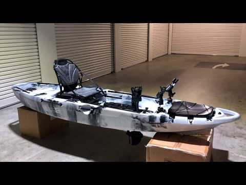 HD Video Walk-Through Of 2019 Pedal Pro Fish 3.2m  (Pedal Powered Fishing Kayak) From Bay Sports