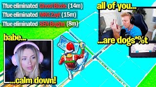 TFUE *FULL TOXIC* after *EMBARRASING* THESE PROS! (Fortnite)