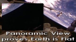 Smoking gun panorama view from ISS proves NASA
