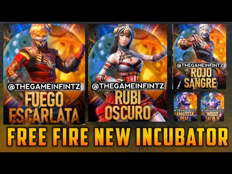 Free Fire New Incubator In Luck Royale   Free Fire New Incubator Bundle   Free Fire Mega Updates