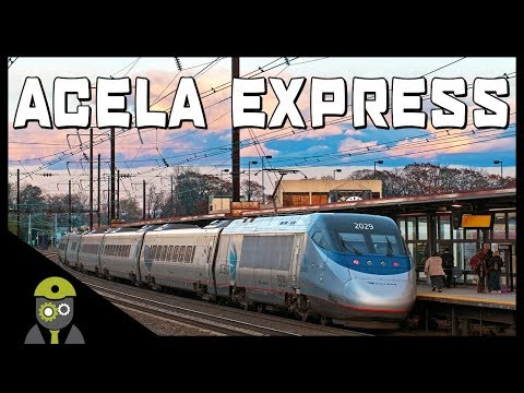 Train Simulator 2018 - Northeast Corridor - Acela Express