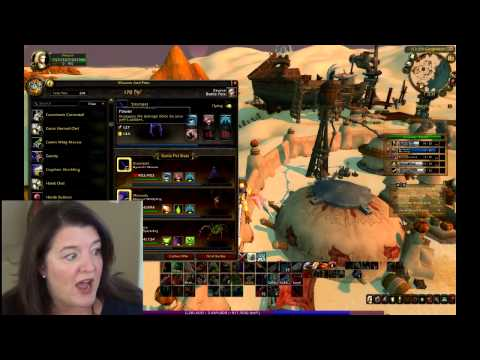 World of Warcraft Series - Episode 2 - Archaeology with Vixxyne and Helvette transformed