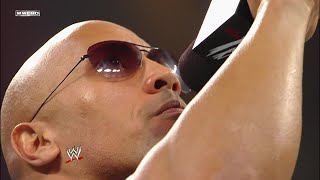 The Rock returns as the host of WrestleMania 27: Raw. February 14, 2011