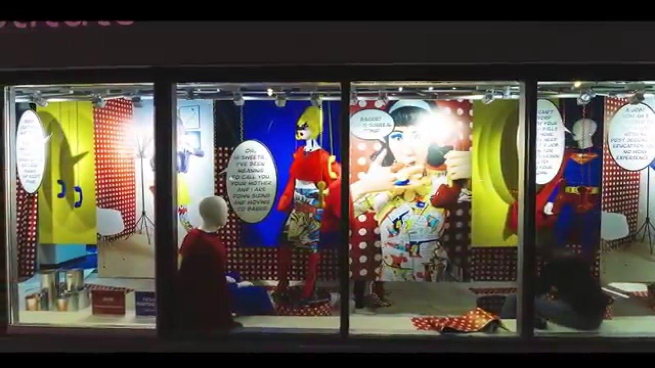 & Humber Pop Art Window Display - YouTube