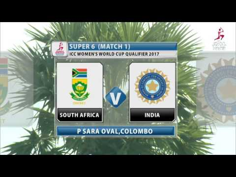 South Africa v India, ICC Women's World Cup Qualifier, 2017