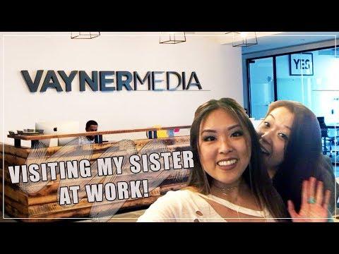 Vayner Media Tour | Visiting my Sister in NY!