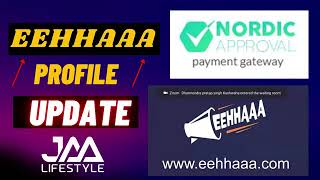 EEHHAAA Profile Process || Jaa Lifestyle || Nordic approval KYC || Personal verification ||