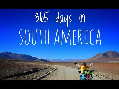 1 year 200cc bike in South America in 3 minutes