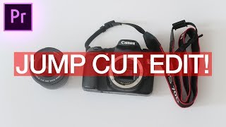 How to Edit Jump Cut Stop Motion Style Video Sequences in Adobe Premiere Pro! (CC 2017 Tutorial)